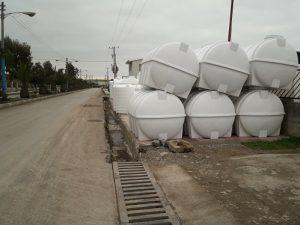 مخزن پلی اتیلن منبع آب